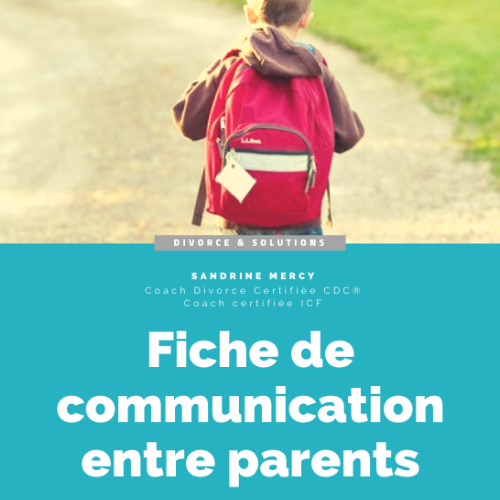 parent divorce communication