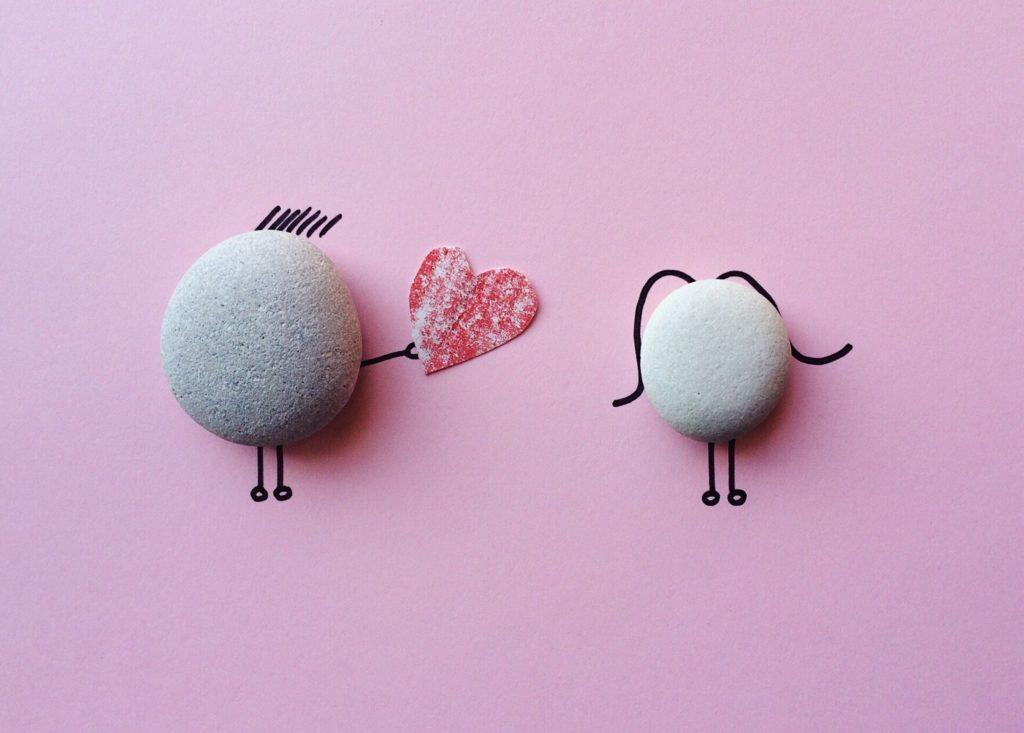 Saint valentin et séparation