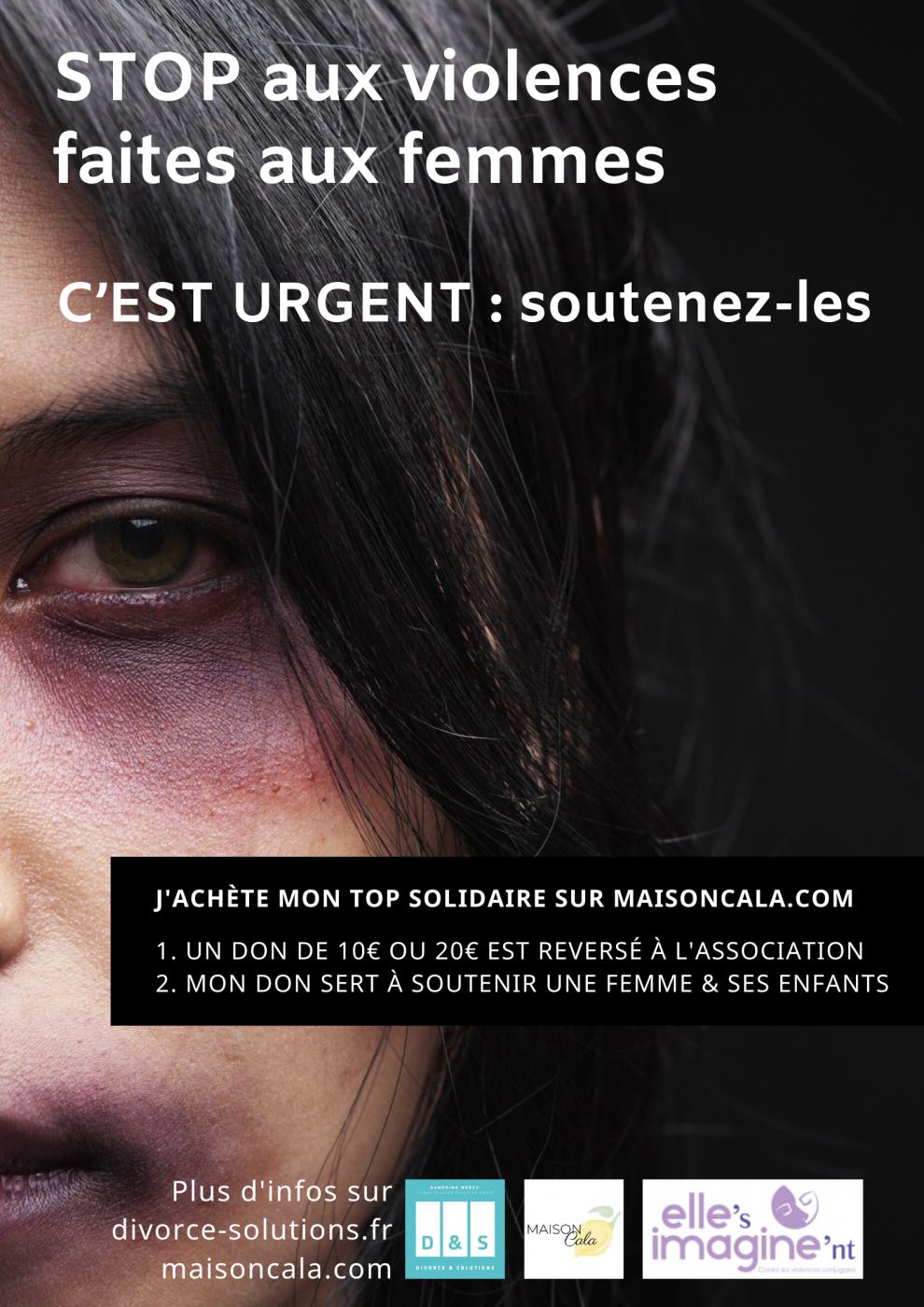 STOP aux violences faites aux femmes C'EST URGENT _ soutenez-les